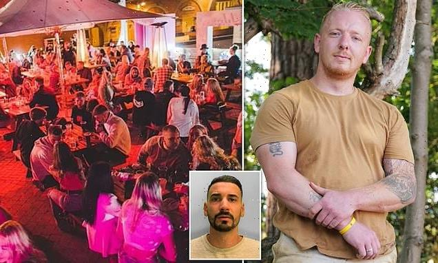 EXCLUSIVE: Pictured: Hero bouncer tells how he saved 18-year-old