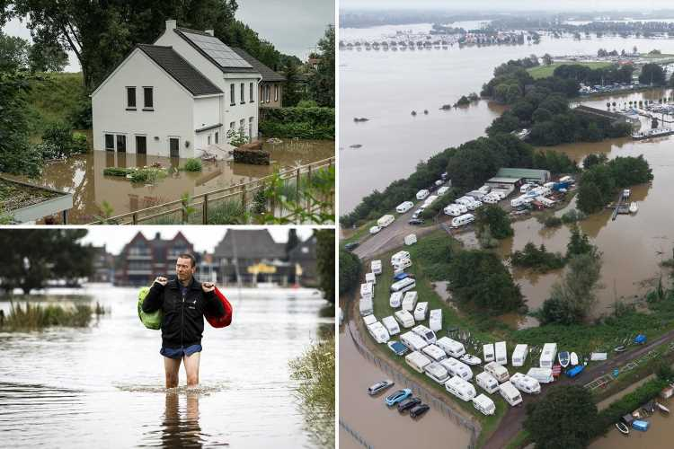 Germany floods – At least 153 killed with 20 deaths in Belgium in worst floods in decades & 1,000 still missing