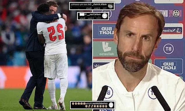 'It's not what we stand for': Gareth Southgate slams racist abuse