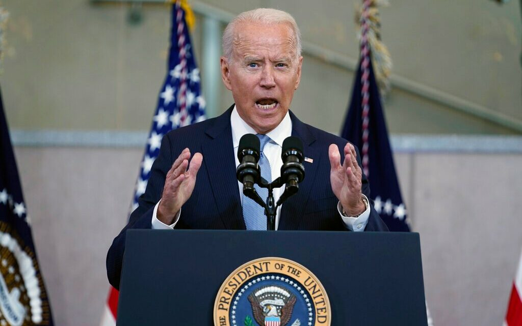 """Joe Biden Says Attack On Voting Rights Is """"Most Significant Threat To Our Democracy Since The Civil War"""""""