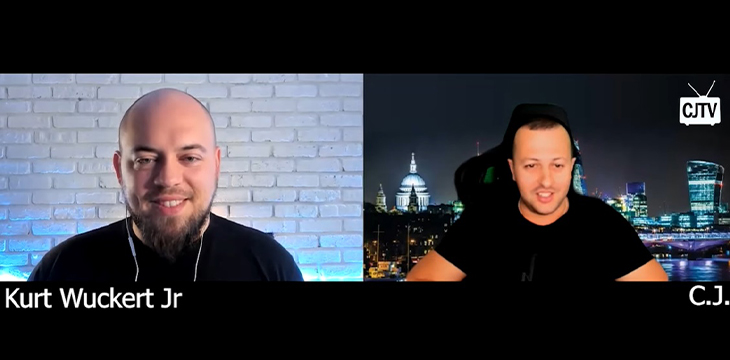 Kurt Wuckert Jr returns to CJTV for to expose 'fake Bitcoin, puppet masters and darknet money flow'