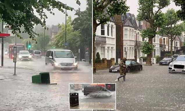 Londoners count cost of 'biblical' flash floods
