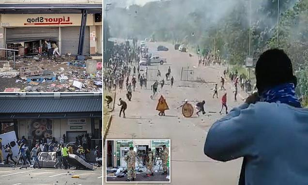 Owners fire on looters to protect their shops in South African riots