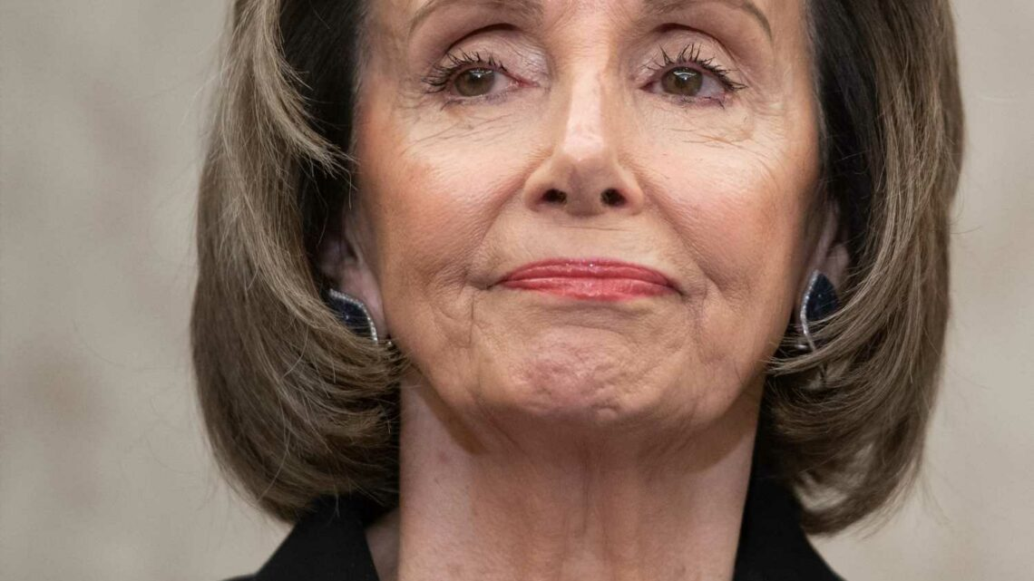 Pelosi is being SUED over mask fines as Republicans say speaker must be 'held accountable'