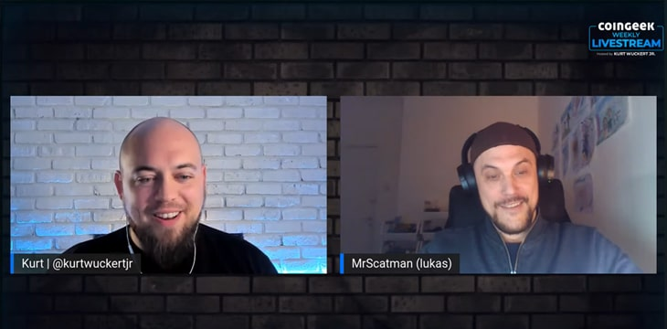 Project ANNE creator Mr Scatman joins CoinGeek Weekly Livestream episode 22