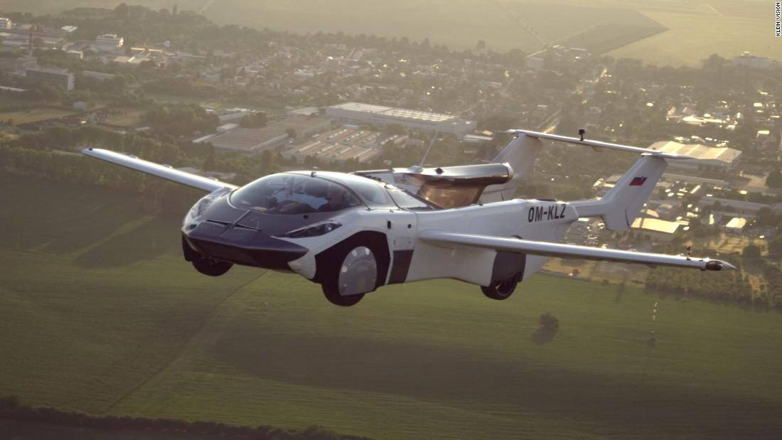 Watch this flying car complete its first flight in 2020