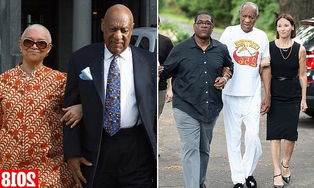 Where's Mrs Cosby? No sign of vocal wife Camille after Bill's release