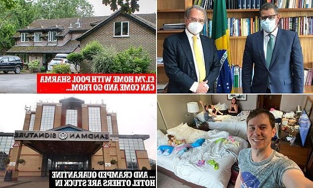Alok Sharma should quarantine in a hotel like everyone else