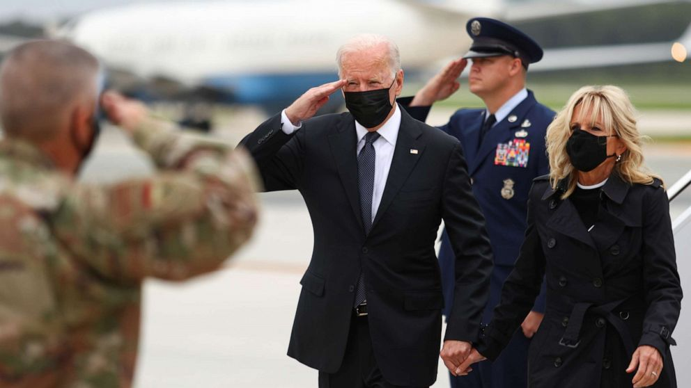 Biden loses his base on Afghanistan: The Note