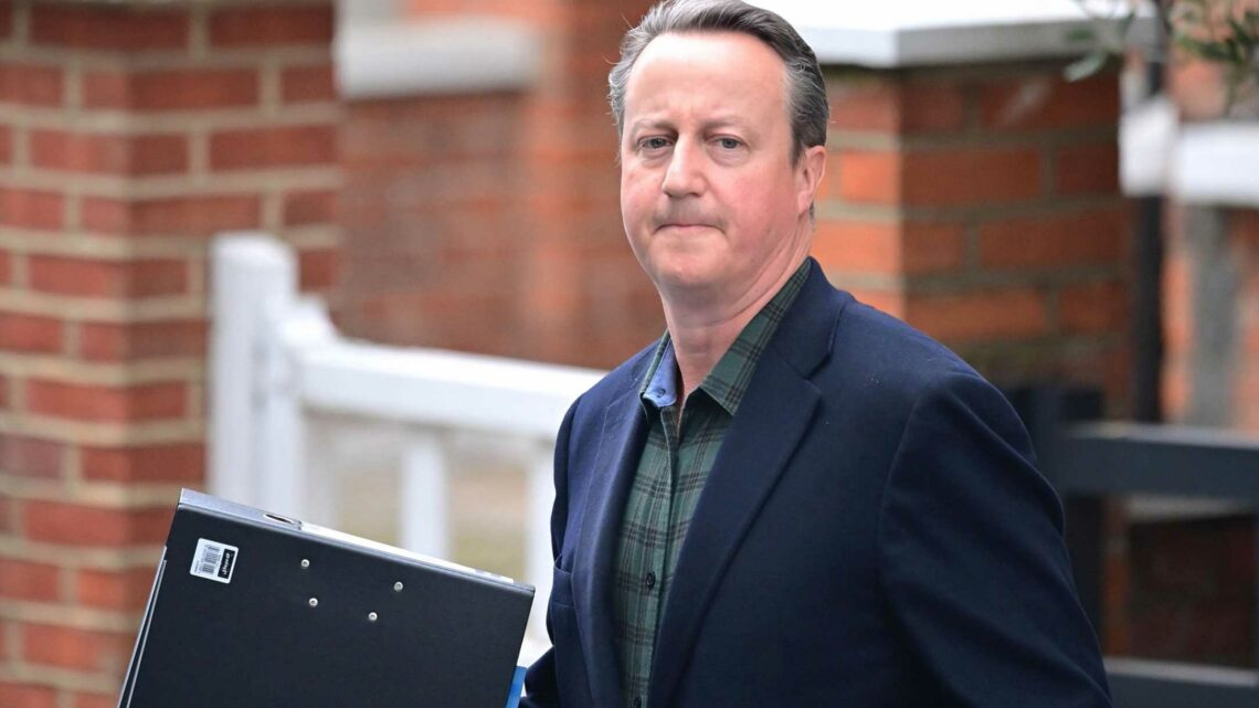Disgraced duo David Cameron and Matt Hancock face questions over how £123m government contract was awarded