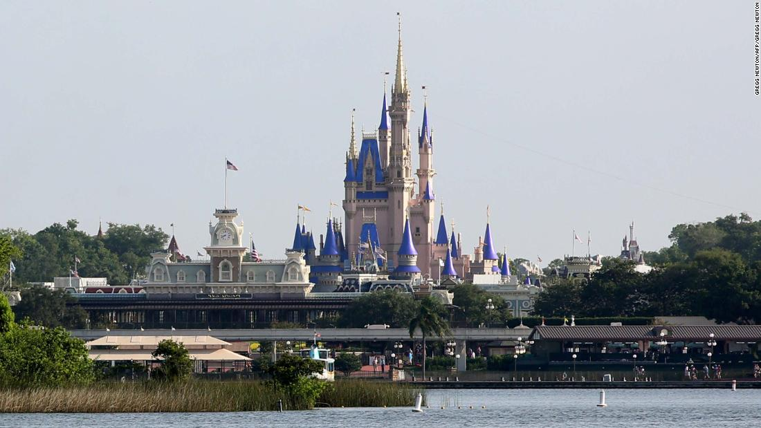 Disney shares rise as earnings surpass expectations as parks reopen