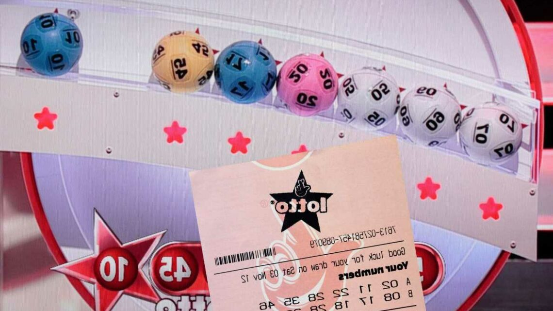 Lottery rollover sees jackpot jump to £5.4m after no weekend winners – but one lucky punter scooped £1m prize