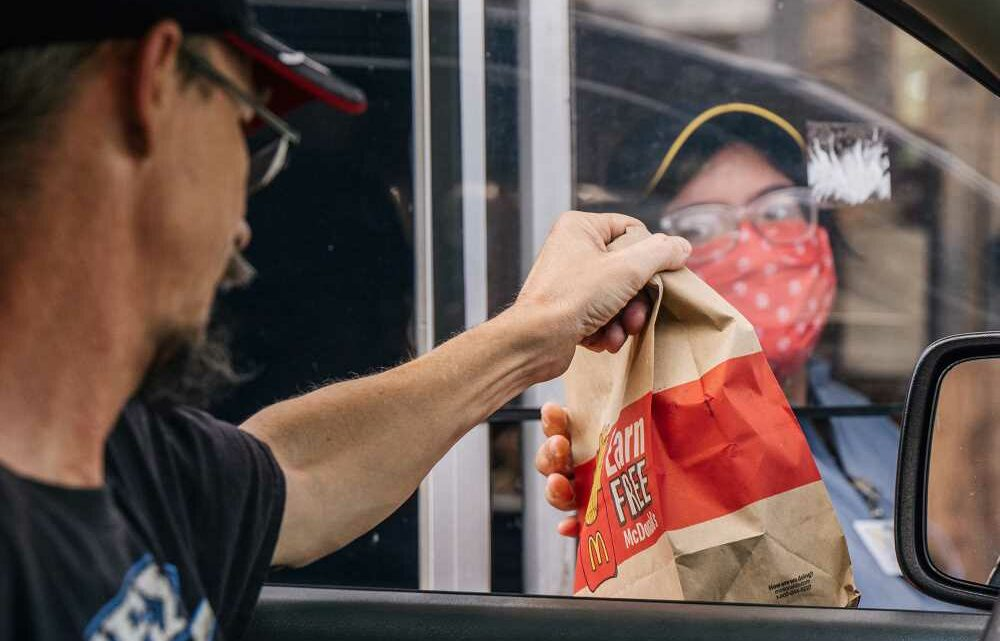 McDonald's grappling with tight supply of to-go bags, straws
