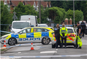 Second man, 27, arrested after dad was 'murdered' just yards from home as cops spotted body surrounded by fleeing gang