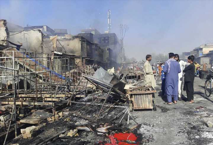 Taliban seizes several Afghan capitals as U.S. nears withdrawal