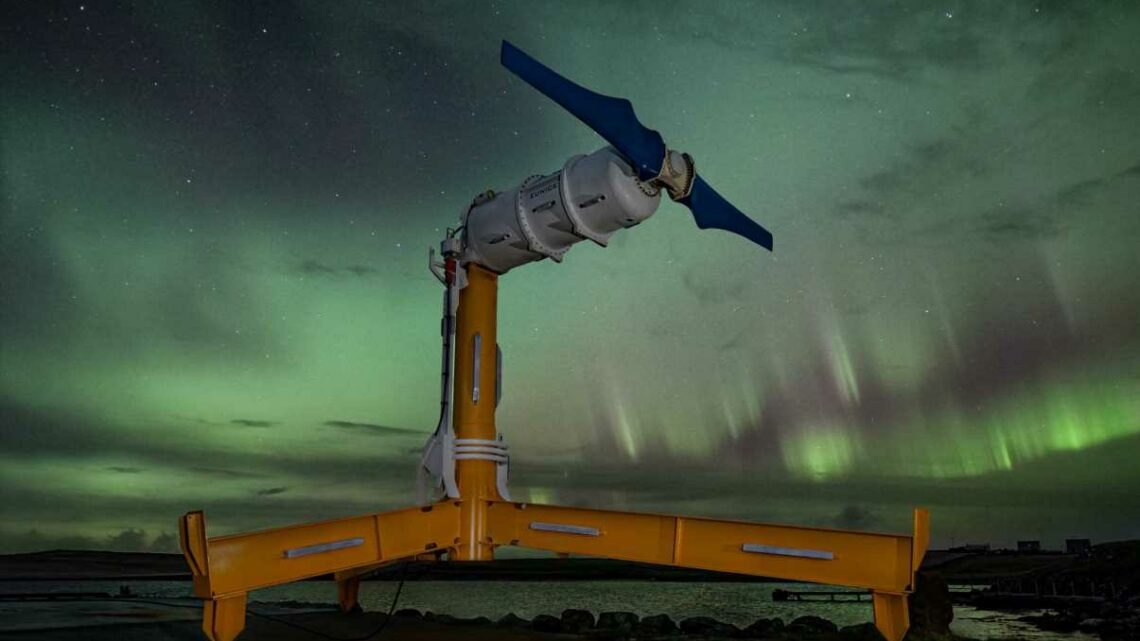 The mass manufacture of huge tidal turbines could be one step closerafter firm seals funding