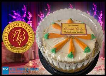 Baking Institute Bakery Recalls Carrot Cake