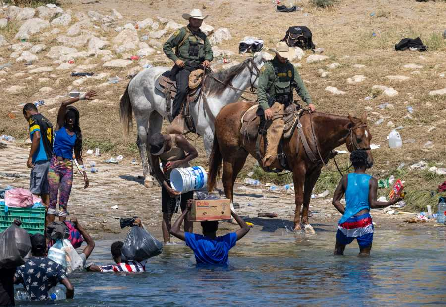 Biden Channels Stephen Miller to Deport Haitian Asylum Seekers