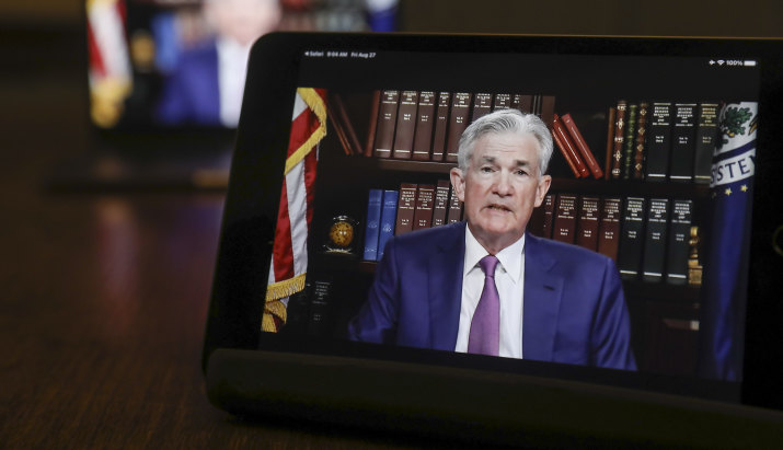 Fed flags a rate hike as soon as 2022; tapering could start in November