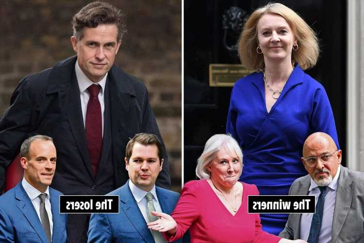 Liz Truss promoted and Gavin Williamson sacked as Boris swings axe in Cabinet reshuffle
