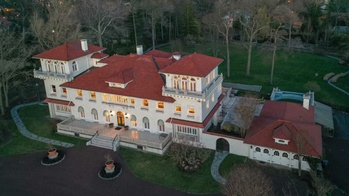 Mansion, once asking $39 million, sells for $4.6 million. Here's what happened