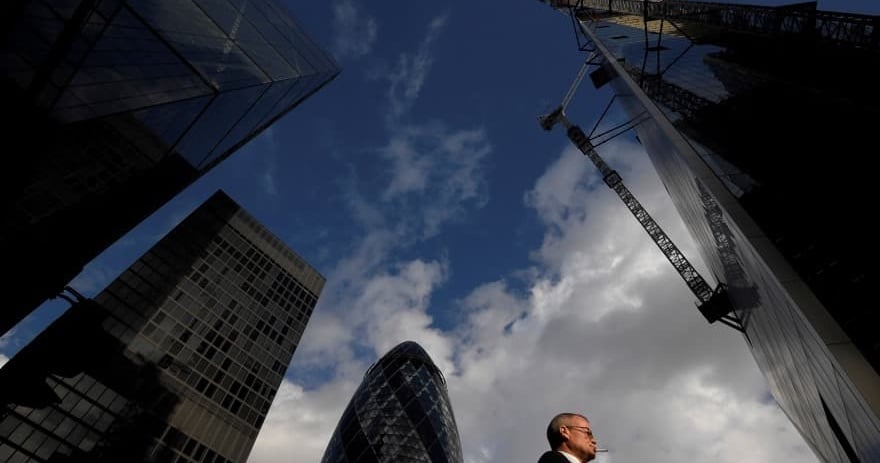 Most of London Financial District Employees Are Back to Their Desks