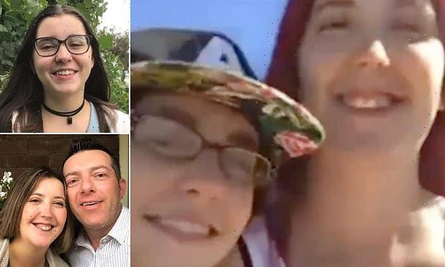 Mum's chilling selfie video before her betrayal