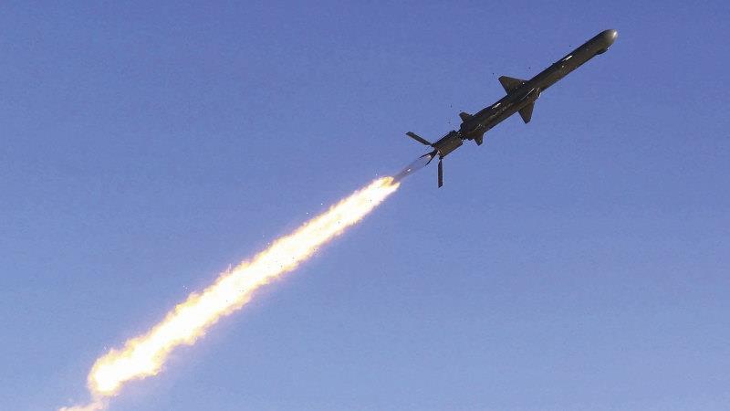 North Korea tests a new long-range cruise missile