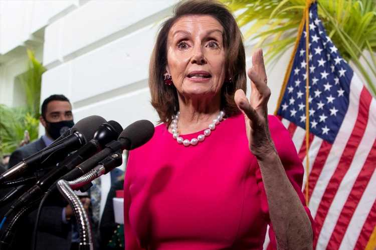 Pelosi blunders as she confuses Biden for Obama while pushing president's agenda