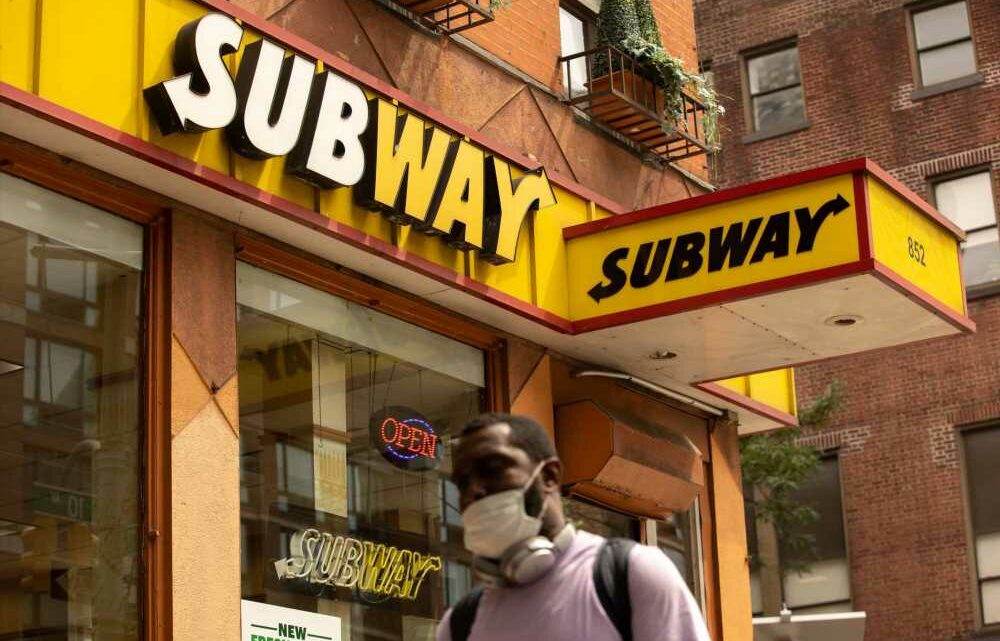 Subway says August sales were the strongest in 8 years after revamping menu