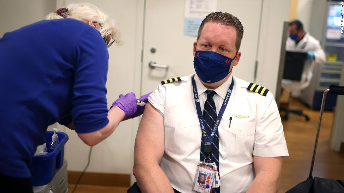 United Airlines CEO: Employer mandates will drive vaccination rates