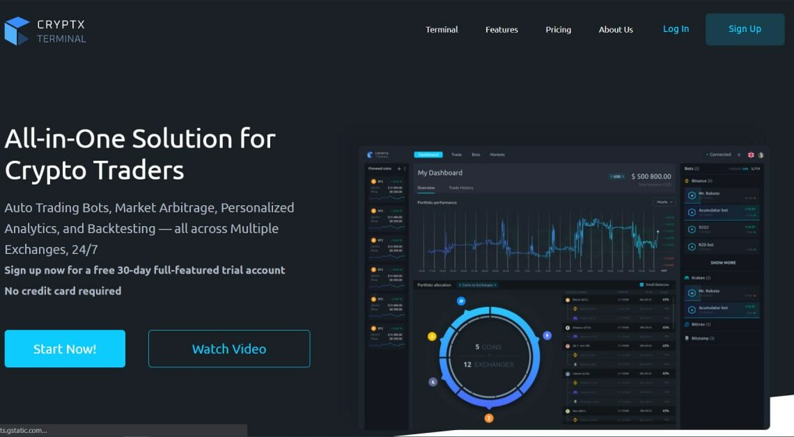What Is CryptX Terminal? An All-in-One Solution For Cryptocurrency Traders