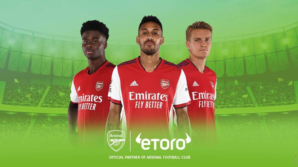 eToro Partners with Arsenal to Expand Global Sponsorship Portfolio
