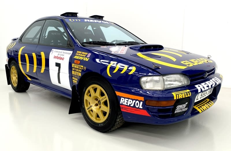 A long-lost Subaru rally car found in a barn just sold for $360,000 worth of bitcoin
