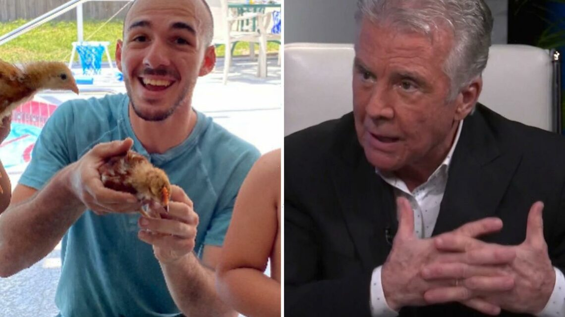 America's Most Wanted host John Walsh says Brian Laundrie could walk across border 'naked with his hair on fire'