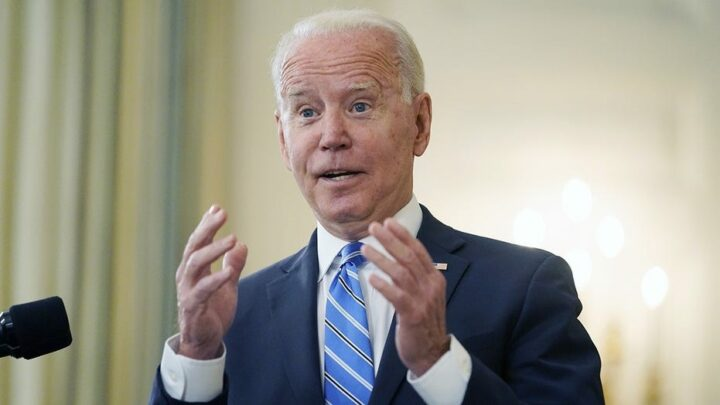 Biden says police officers, first responders should be fired for refusing jab