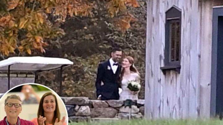 Bill Gates' daughter Jennifer, 25, opens up on 'challenge' of planning $2million wedding during parents' divorce