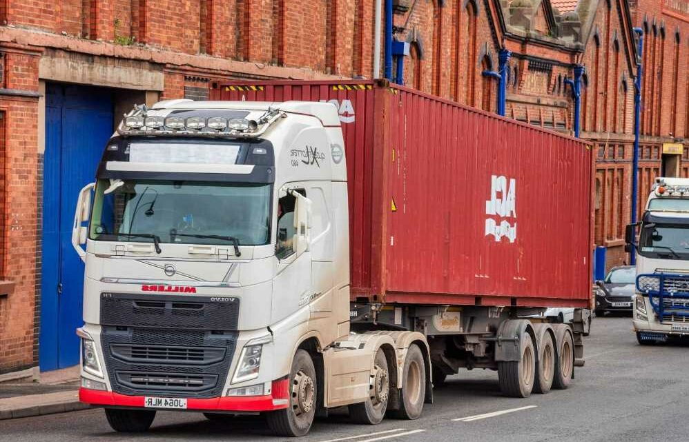 Britain's biggest union 'holding Christmas hostage' after threatening to stage massive LORRY strikes