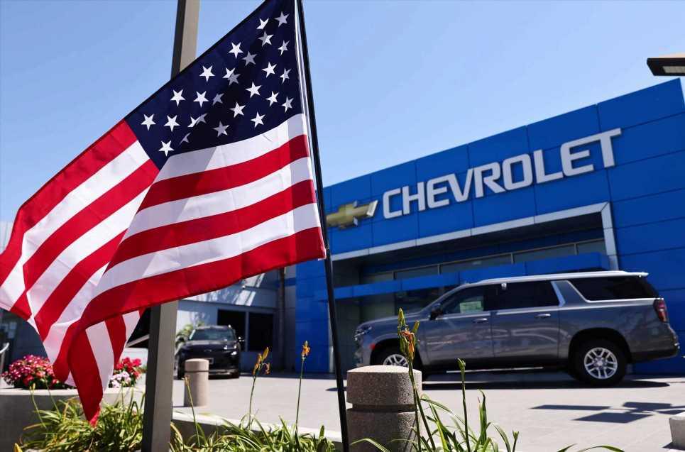 Chip shortage tanks GM's third-quarter sales