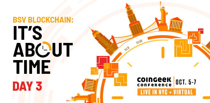 CoinGeek New York Day 3 shines spotlight on tokenization, supply chain and more—watch it live