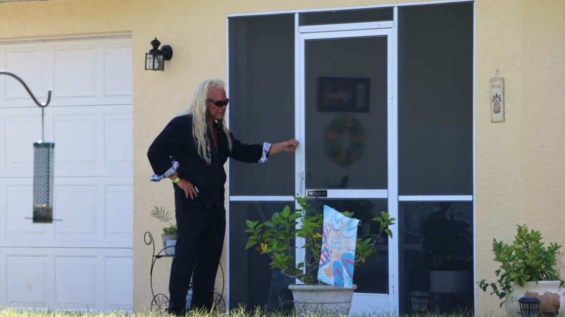 Dog the Bounty Hunter searches Appalachian Trail for Brian Laundrie as he 'follows up tip from hiker fugitive spoke to'