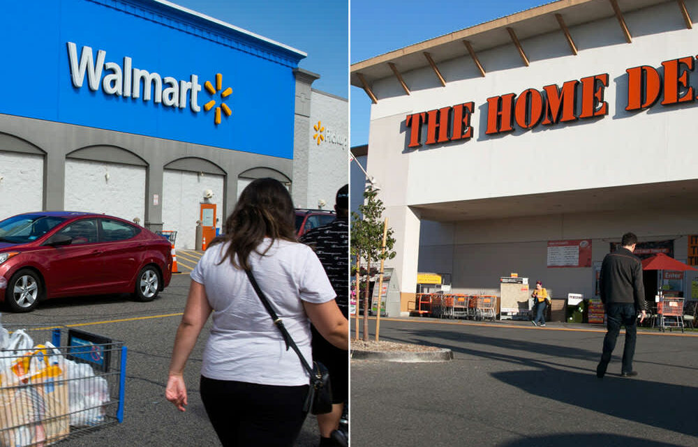 Home Depot hires Walmart delivery drivers to drop off paint and more to customers' doors