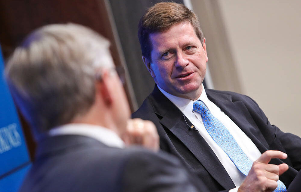 """Jay Clayton: The SEC """"Cares"""" About Securities. That's Why It's Involved in Crypto."""