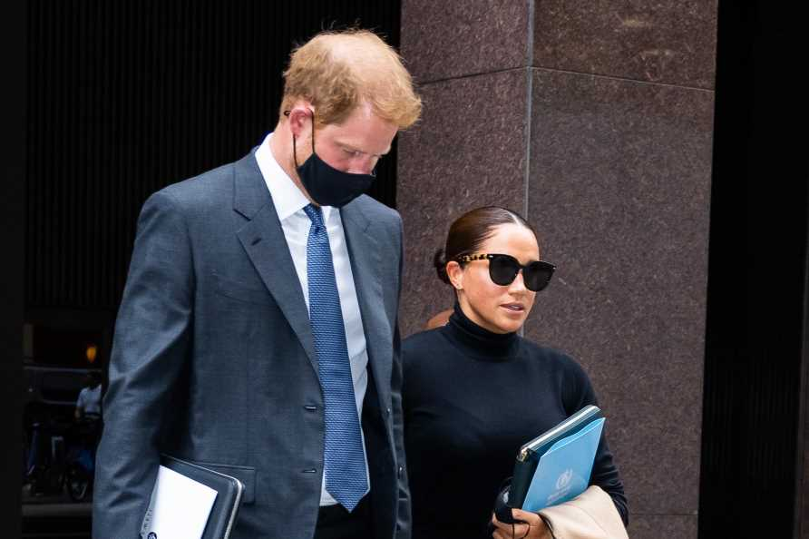 Meghan Markle and Prince Harry gush 'when we invest in each other we change the world' as they sign new woke deal