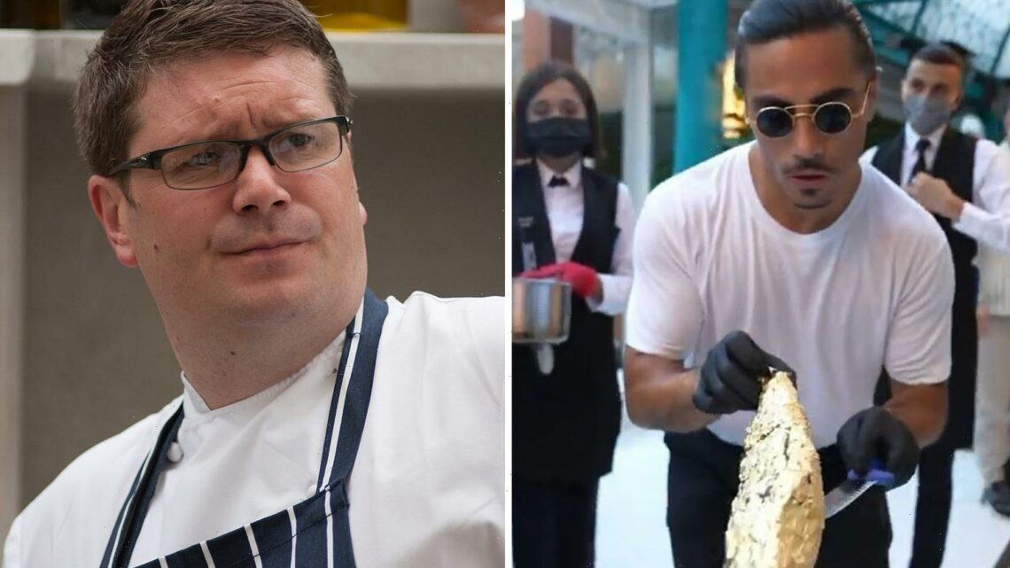 Salt Bae branded 'Mickey Mouse' in scathing attack by celebrity chef Daniel Clifford over £630 steak