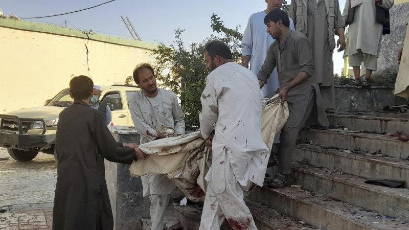 Scores dead, wounded in Afghanistan blast, Taliban say