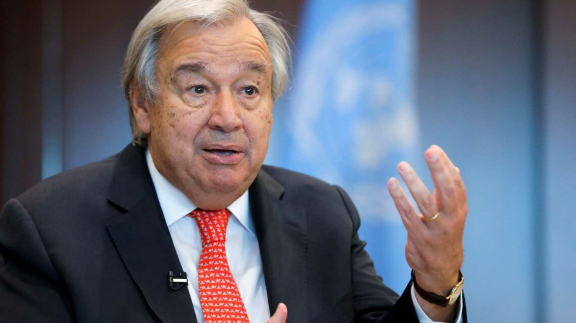 UN Secretary calls unequal distribution of Covid vaccines across globe immoral and stupid