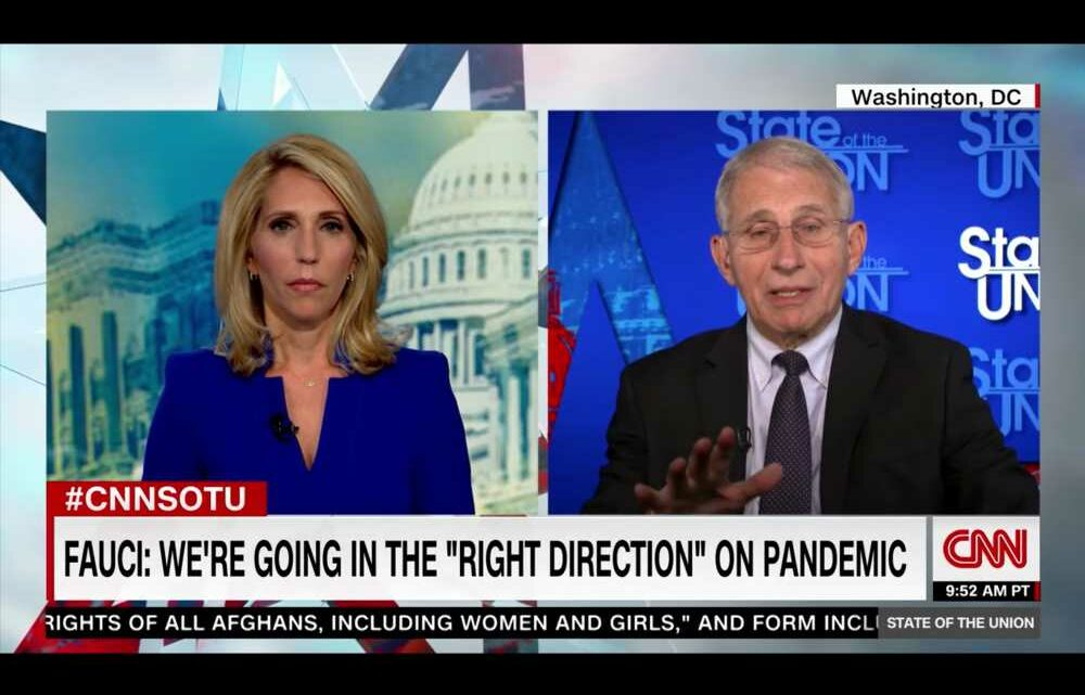 With Covid Numbers Heading in the 'Right Direction,' Fauci Cautions Not to 'Declare Victory' Yet
